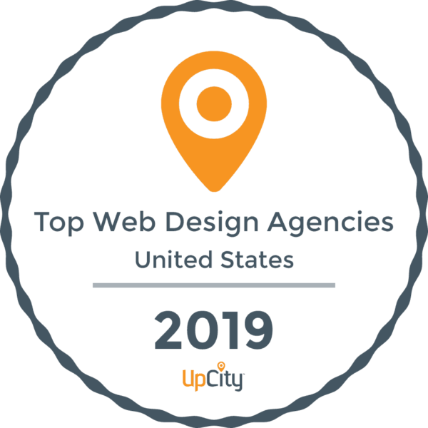 upcity award logo for top agencies